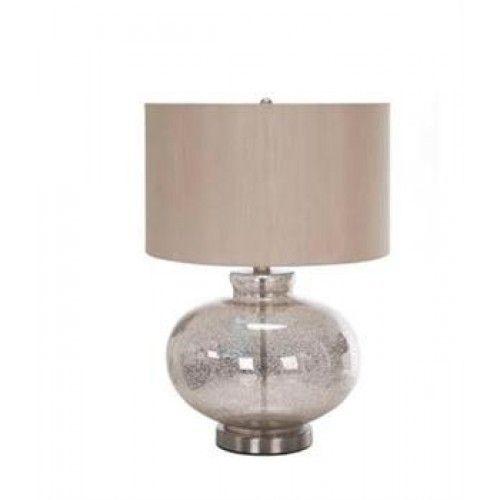 Global Mercury Glass lamp
