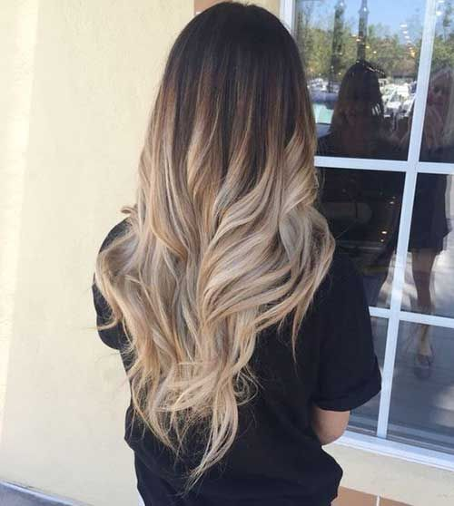Unique long hair color ideas for ladies