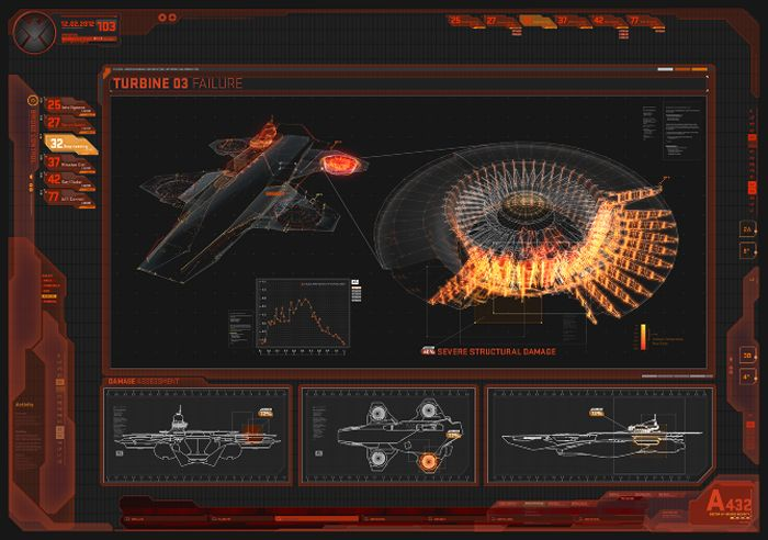 UI Design for the Avengers by Jayse | Abduzeedo | Graphic Design Inspiration and Photoshop Tutorials