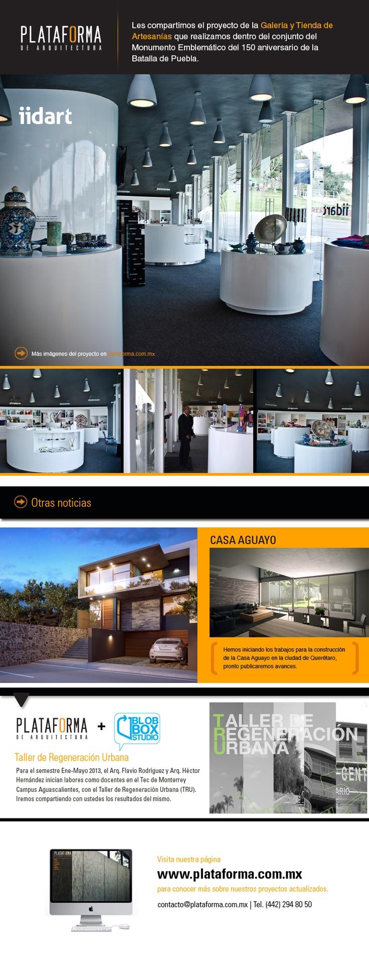 Plataforma de Arquitectura Newsletter 1210