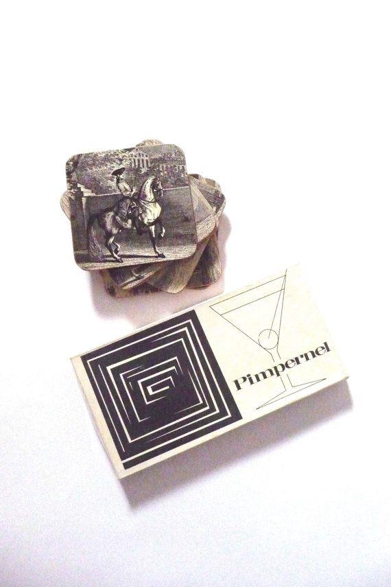 Vintage Pimpernel Coasters Johann Elias Ridinger Prints