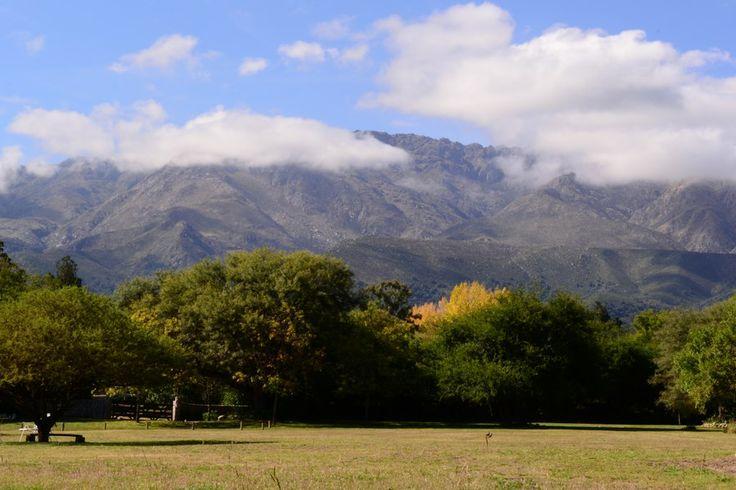 Hermosa vista desde el parque de Cabañas Ichacuna.