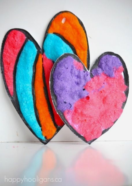 Puffy Paint Recipe - we love this adorable Puffy Paint Project.So bright and colourful!