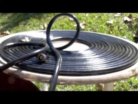 SOLAR HOT WATER with black garden hose Pondmaster 1200 gph SWIMMING POOL SOLAR - YouTube