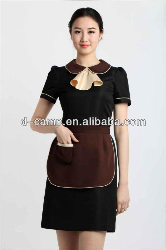 21 best waitress uniform images on pinterest restaurant for Uniform spa malaysia