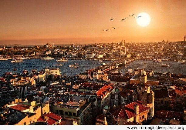 Paesaggio urbano di Istanbul immaginidivertenti.org