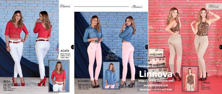 AA0308 - Jeans & Blusas