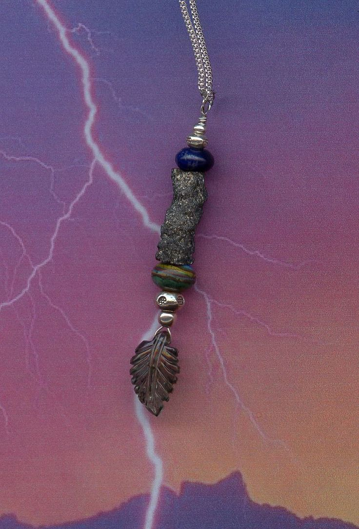 Lightning fulgurite multi gemston beaded pendant sterlin silver chain necklace & Best 25+ Fulgurite ideas on Pinterest | Scotts valley Mountains ... azcodes.com