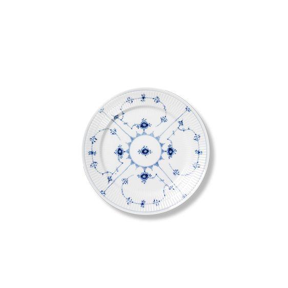 Royal Copenhagen Blue Fluted Plain Lunch plate 22 cm