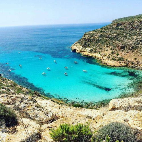 Sicilia Lampedusa Cala Pulcino     #TuscanyAgriturismoGiratola