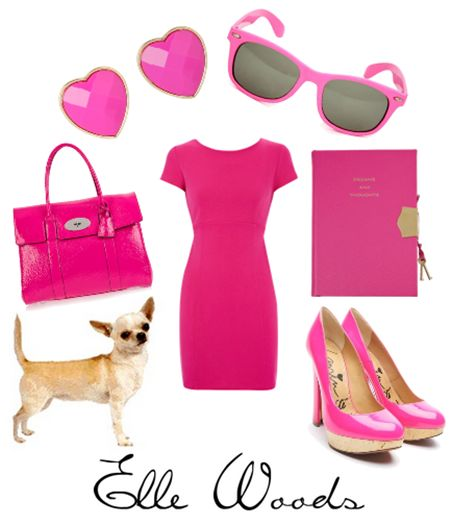 Elle Woods- Legally Blonde great for a Halloween costume!