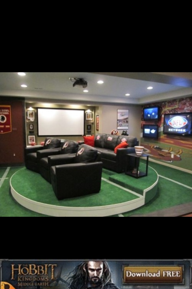 Want This Game Room But With DALLAS COWBOYS Theme