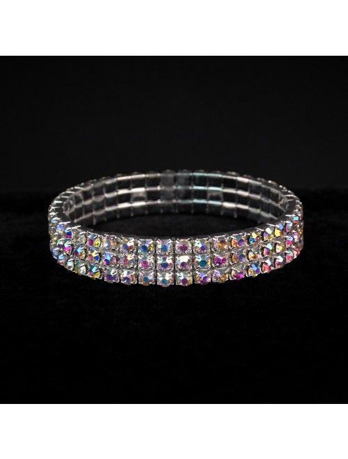 AB Crystal NPC Bikini Competition Bracelet