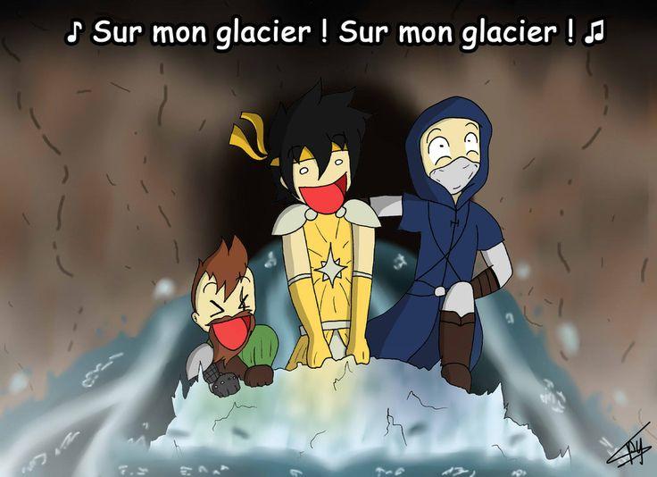 Aventures - Sur mon glacier by Spyritte