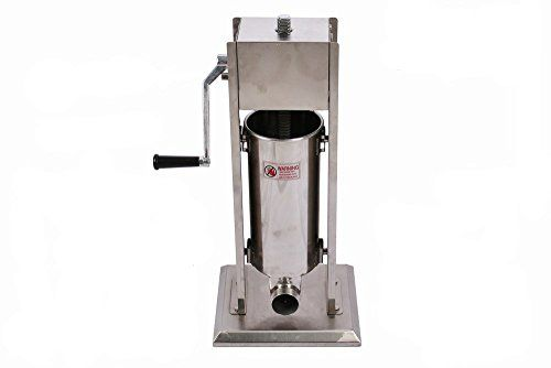 Generic Commercial Use 7 Litres Stainless steel Vertiacal Manual Spanish Doughnuts Maker Sausage Stuffer * To view further for this article, visit the image link. #FoodProcessors