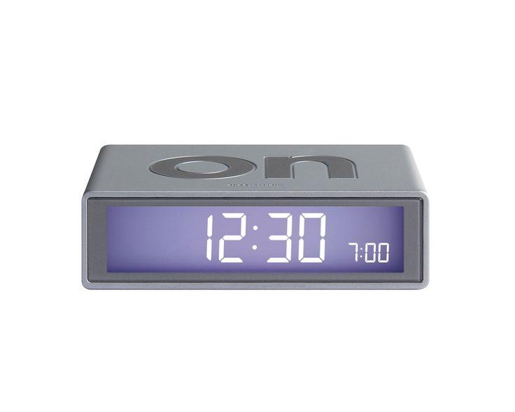 FLIP Alarm Clock (aluminium)
