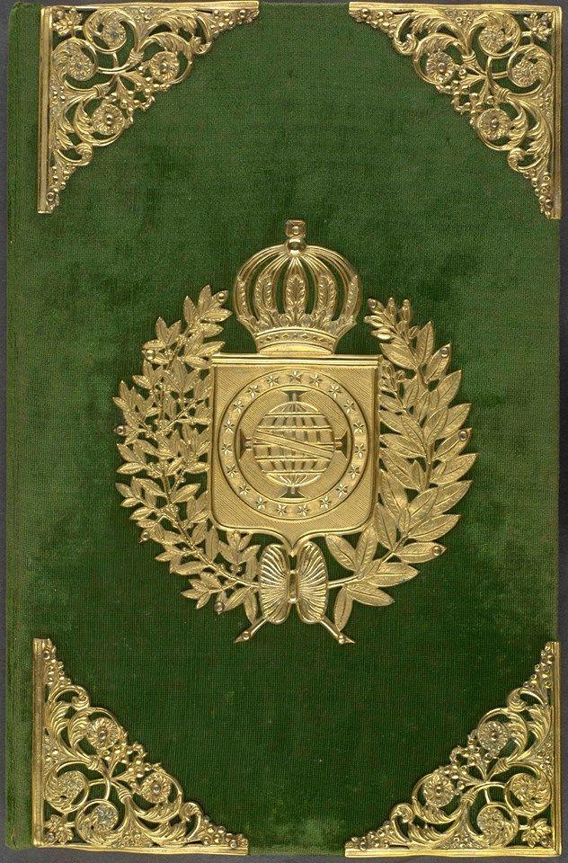 Capa da Constituição do Brasil de 1824 Arquivo Nacional