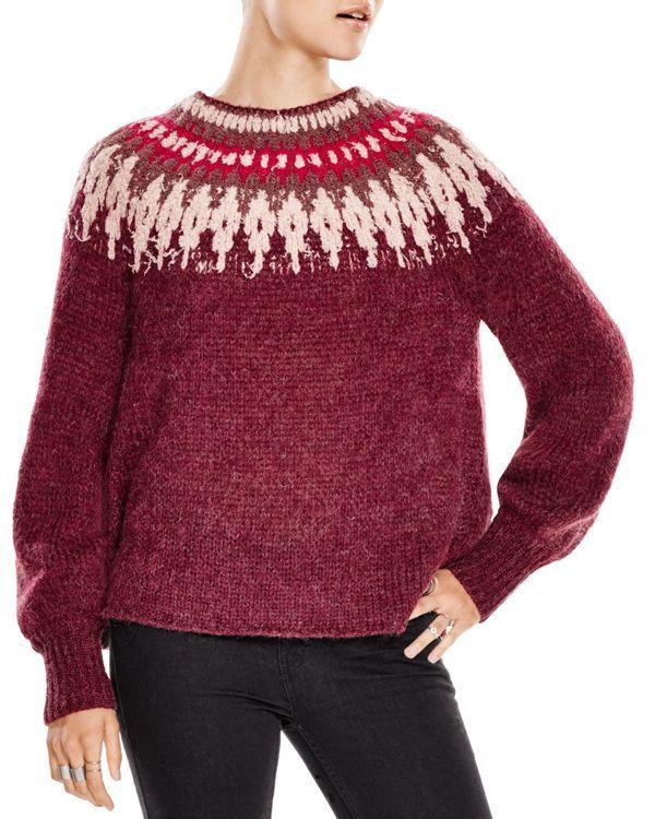 Free People Baltic Fair Isle Sweater | Bloomingdale's