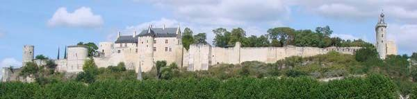 Château de Chinon, XIe, XVe siècle.
