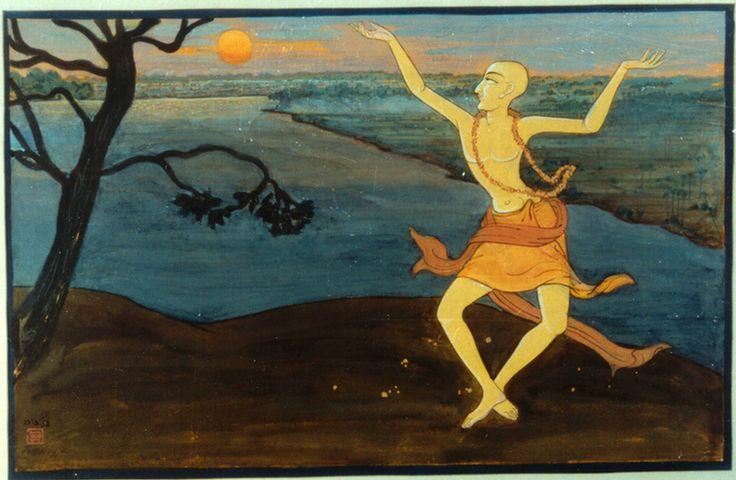 Chaitanya (Gauranga) Mahaprabhu (Album 47 paintings)