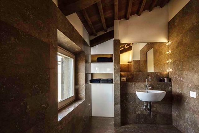 1000 id es sur le th me salle de bains moderne rustique for Carrelage salle de bain rustique