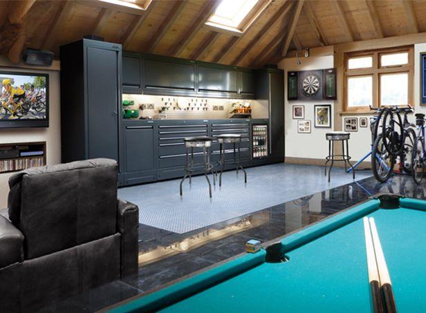 best 25 ultimate man cave ideas on pinterest car man cave car garage and br car. Black Bedroom Furniture Sets. Home Design Ideas