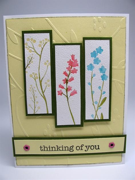 how to write a thinking of you card