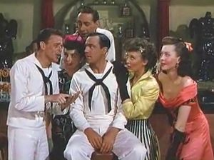 "Frank Sinatra, Alice Pearce, Jules Munshin, Gene Kelly, Betty Garrett and Ann Miller perform ""Count on Me"" In, On The Town"