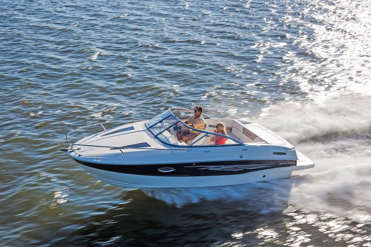 The Sweet Escape: Bayliner's new 642 Overnighter is the perfect cuddy for a quick getaway from the everyday. Read more here!