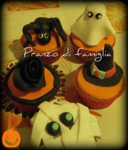 Our Halloween cupcake with pumpkin and no butter