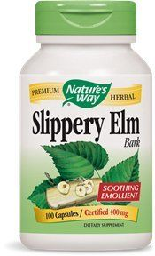 Nature's Way Slippery Elm Bark, 400 mg, 100 Capsules (Pack of 2) * More info could be found at the image url.