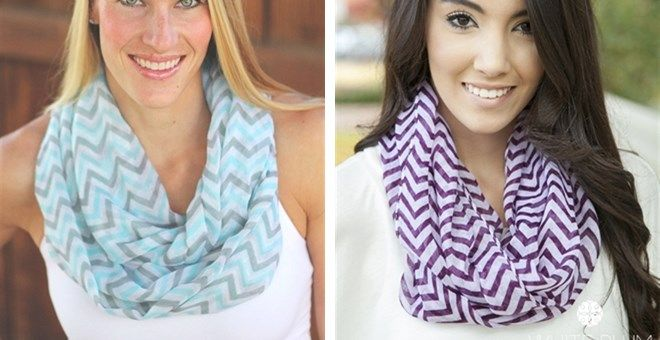 Chevron Infinity Scarves! 19 Styles Available!!