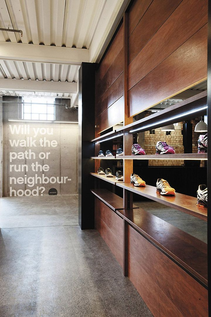 Platinum Sports shop by Switch & Frame Architecture, Auckland