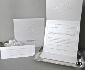 Elegant Classy Wedding Invitation