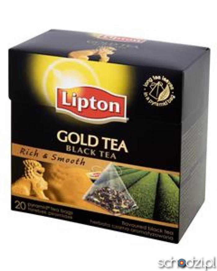 Lipton gold tea 20 pyt - Schodzi.pl