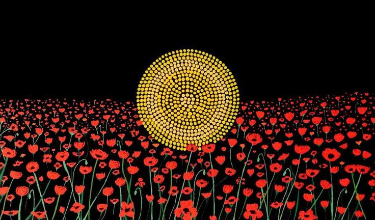 @ duongdustin Came across this poignant artwork honouring #Indigenous #ANZACs  (Source: Koori Kicks)