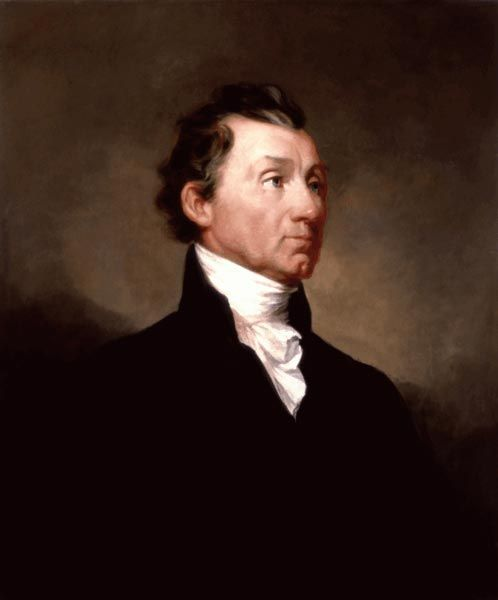 James Monroe (1758-1831) 5th U.S. President that served from 1817 to 1825.