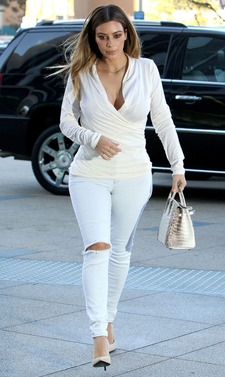 Kim Kardashian Winter Fashion 2014