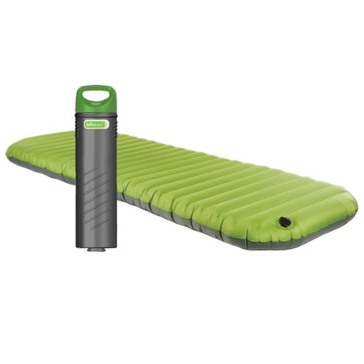 Aero Bed | Best Mattress for Camping | When deflated, it fits IN THE PUMP.