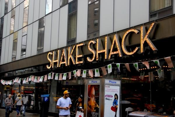 Shake Shak - Comida barata em Nova York