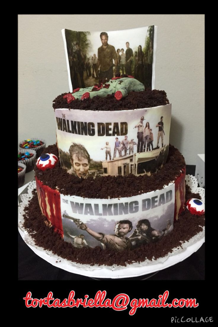 How To Make A Walking Dead Cake