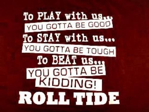 Picture Roll Crimson Tide | roll tide # crimson tide # alabama football