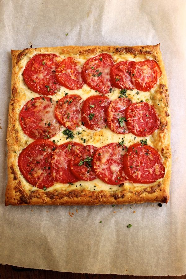 Tomato Tart   This  is a lovely dish.  It's so simple to put together and it looks very impressive when it comes out of the oven. #Homemaderecipes