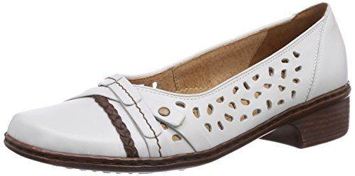 Jenny Rhodos, Damen Slipper, Weiß (weissmarrone 05), 37.5 EU (4.5 UK) - http://on-line-kaufen.de/jenny/37-5-eu-4-5-uk-jenny-rhodos-damen-slipper-5
