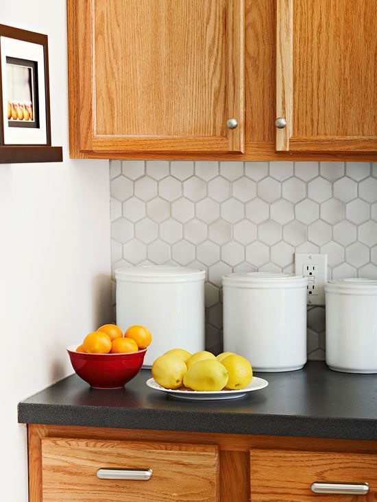 It's easy to replace old countertops with these budget-friendly countertop options: http://www.bhg.com/kitchen/countertop/budget-friendly-countertop-options/?socsrc=bhgpin011514countertops