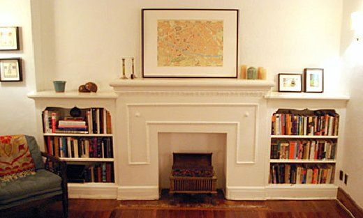 Hot Tip:  Faux Mantles & Fireplaces