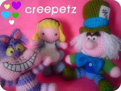 Mad Hatter Amigurumi : 17 Best images about Tim burton crochet stuffsssss on ...
