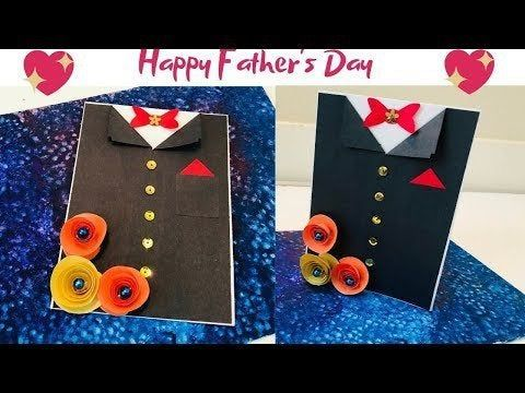 DIY| Father's Day Card | Happy Father's day | Father's day Craft |CrazeeCr…