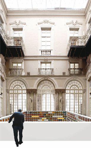 Sp10, baukuh — Nuova biblioteca della Camera di Commercio di Genova in Palazzo Tobia Pallavicino