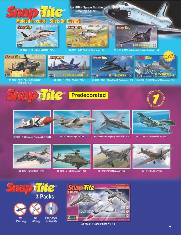 Page 7 - Revell Monogram Catalog 2012 - Plastic Kits - Model Kits - Scale Modeling